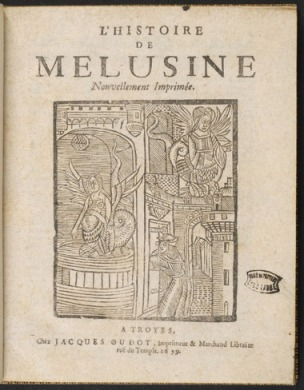 Melusine_frontespizio