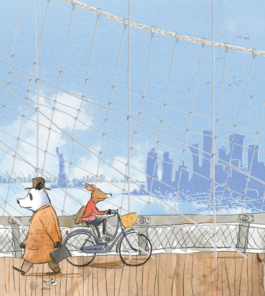 animali gus gordon rosie-on-brooklyn-bridge-full 600