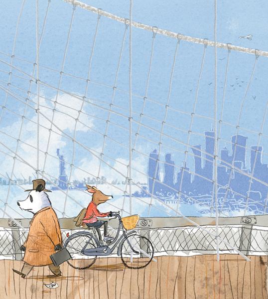 animali gus gordon rosie-on-brooklyn-bridge-full 600