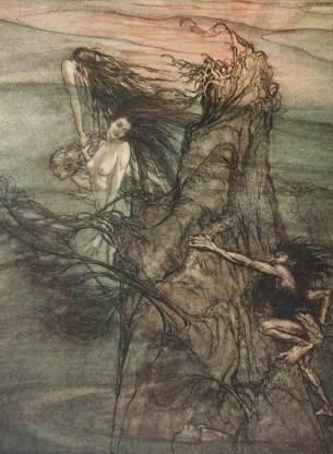 L'anello del Nibelungo, Arthur Rackham