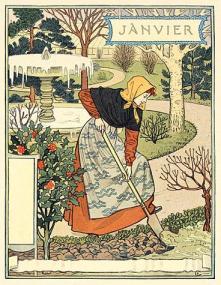 Gennaio, Eugène Grasset