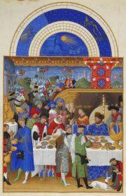Gennaio, Le Très Riches Heures du Duc de Berry