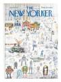 The New Yorker 16 gennaio1971, Saul Steinberg